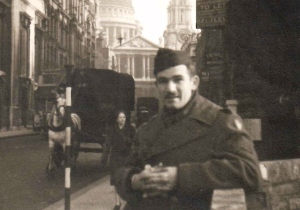 My Dad in London (Rescued Photo)