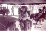 Randi on Shetland Pony